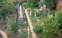 Cemetery at the Greensboro Historical Museum