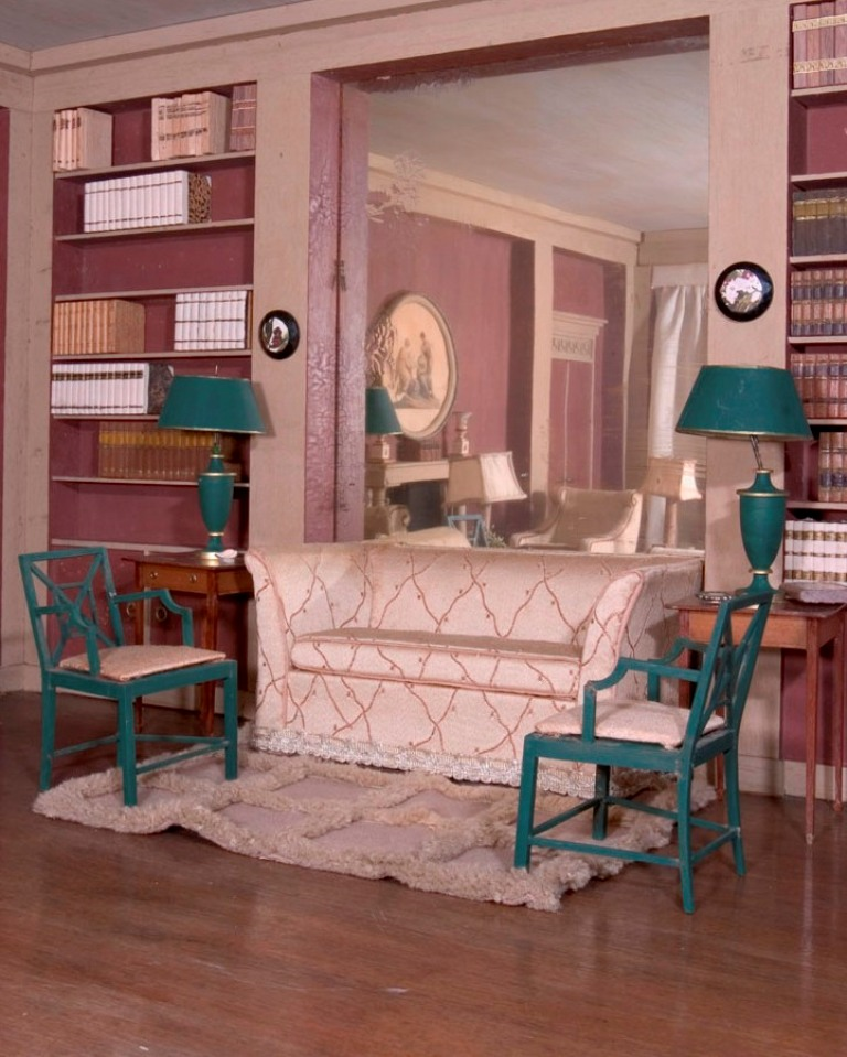 Elegant in Any Scale: Otto Zenke and His Miniature Rooms ...