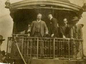 President Roosevelt at the Greensboro Depot, October 1, 1912