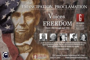 The Emancipation Proclamation: Voices to Freedom