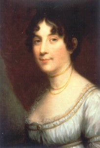 Dolley Madison, by Vanderlyn