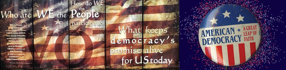 American Democracy Banner