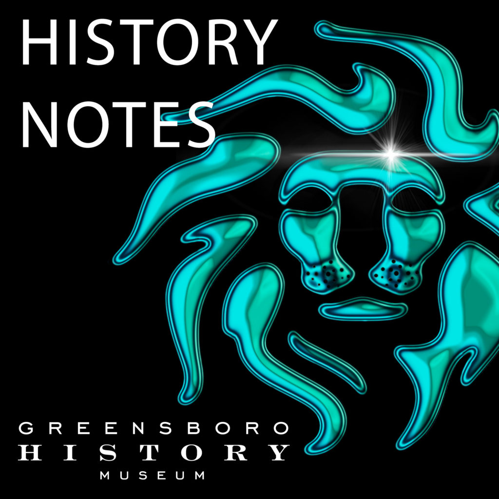History Notes Podcast Lion Logo
