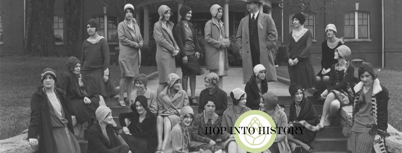State Normal College Students Greensboro 1920s - Hope into History at Oden Brewing Feb. 20, 2020
