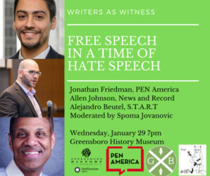 Free Speech in a Time of Hate Speech Program