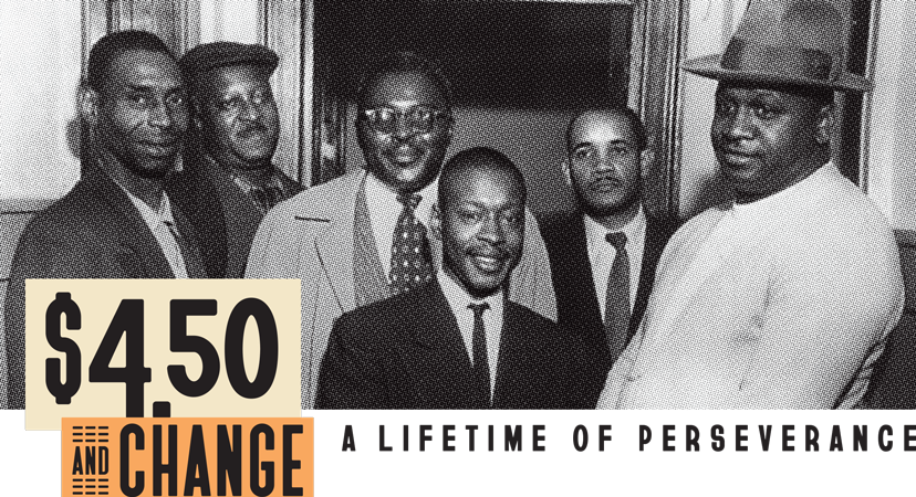 Greensboro Six photo for $4.50 and Change banner
