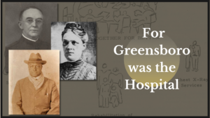 Portraits of Dr. John Wesley Long, Dr. S.P. Sebastian, Nurse Clara Peck